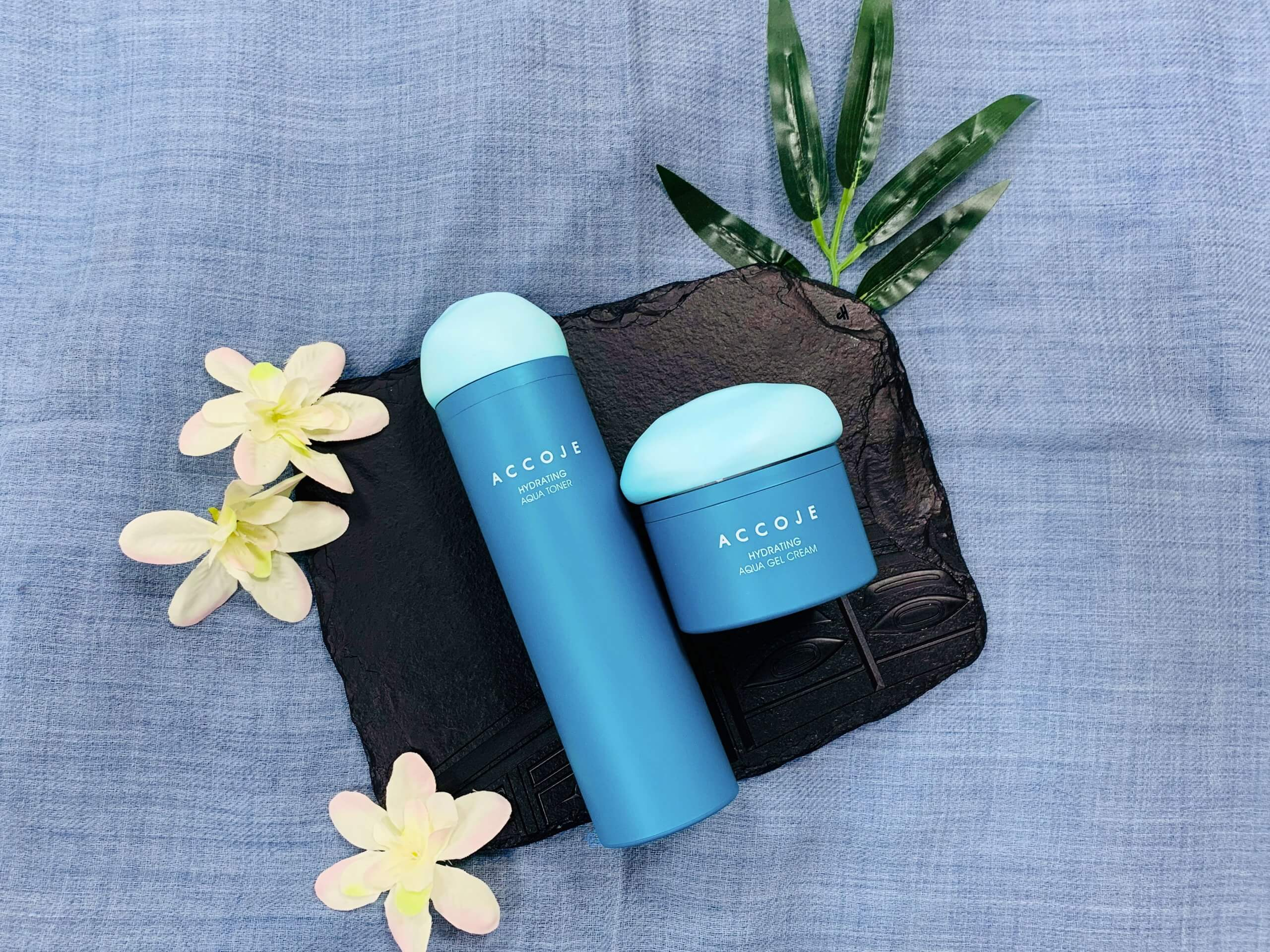 Hydrating Aqua Toner 130ml & Hydrating Aqua Gel Cream 50ml Gift-box