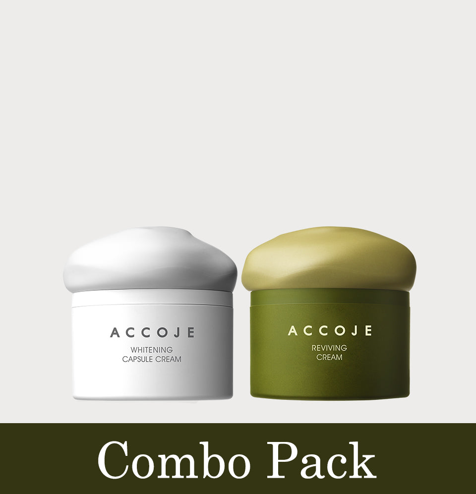 Whitening Capsule Cream + Reviving Cream (Combo Pack)