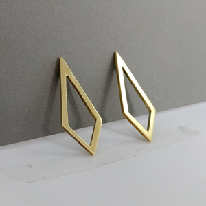 Eban Long Stud - Brass