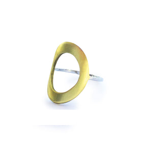 Oval masie Ring