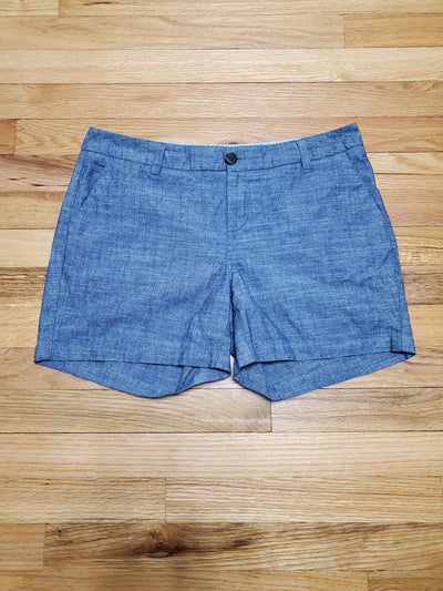 Merona Blue Denim Casual Shorts with pockets in front and faux pockets in back
