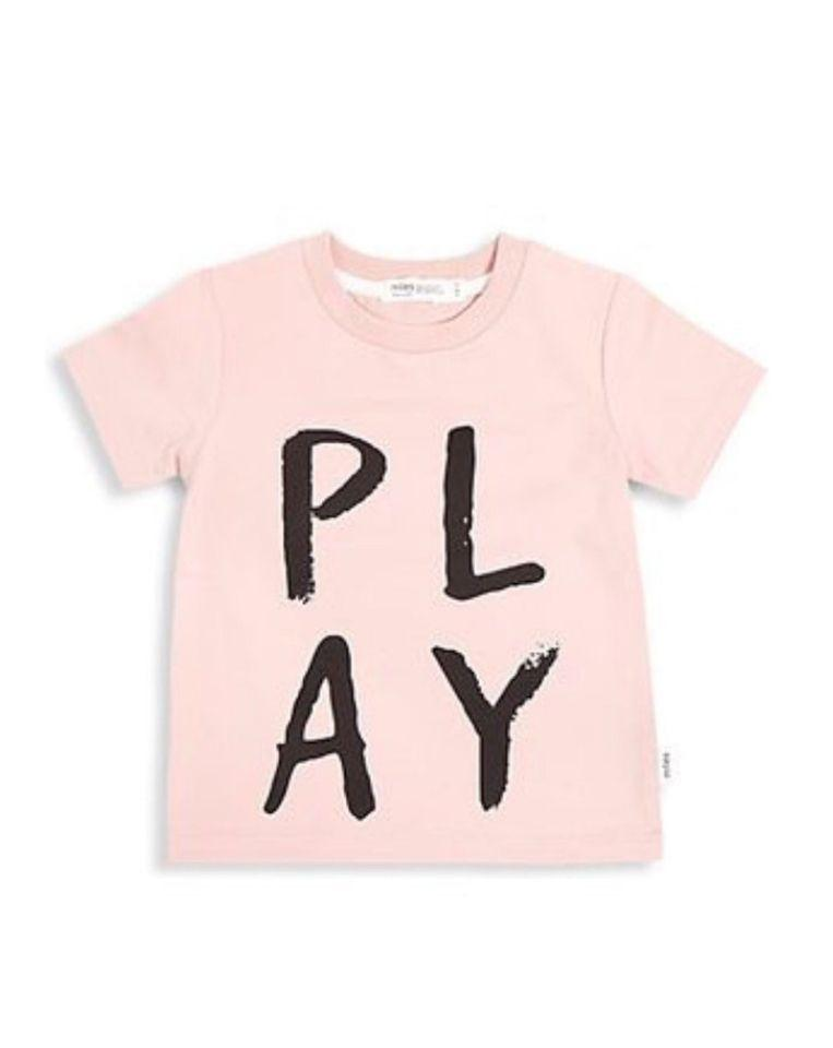 Miles Baby Tops PLAY Tee