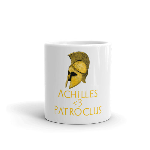 LGBT History month - Achilles & Patroclus - Ancient Greek mythology