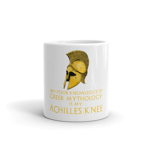 Achilles knee - funny Greek mythology