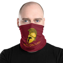 Load image into Gallery viewer, Molon Labe - Ancient Greek Neck Gaiter