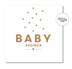 baby shower gift card.