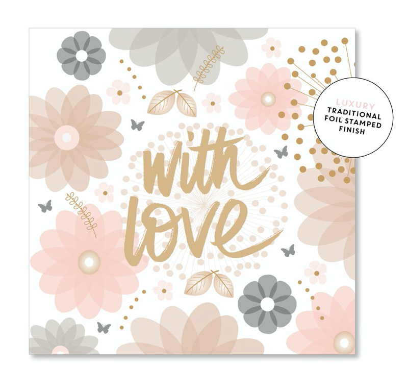 floral with love gift card.