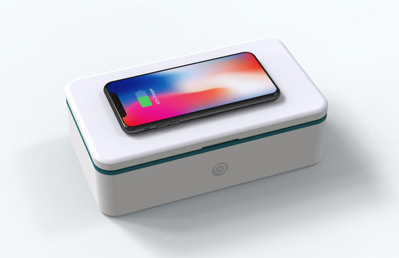PORTABLE UV STERILIZER WITH WIRELESS CHARGER
