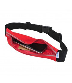 Waist Jogging Pouch  For Running Black WP100