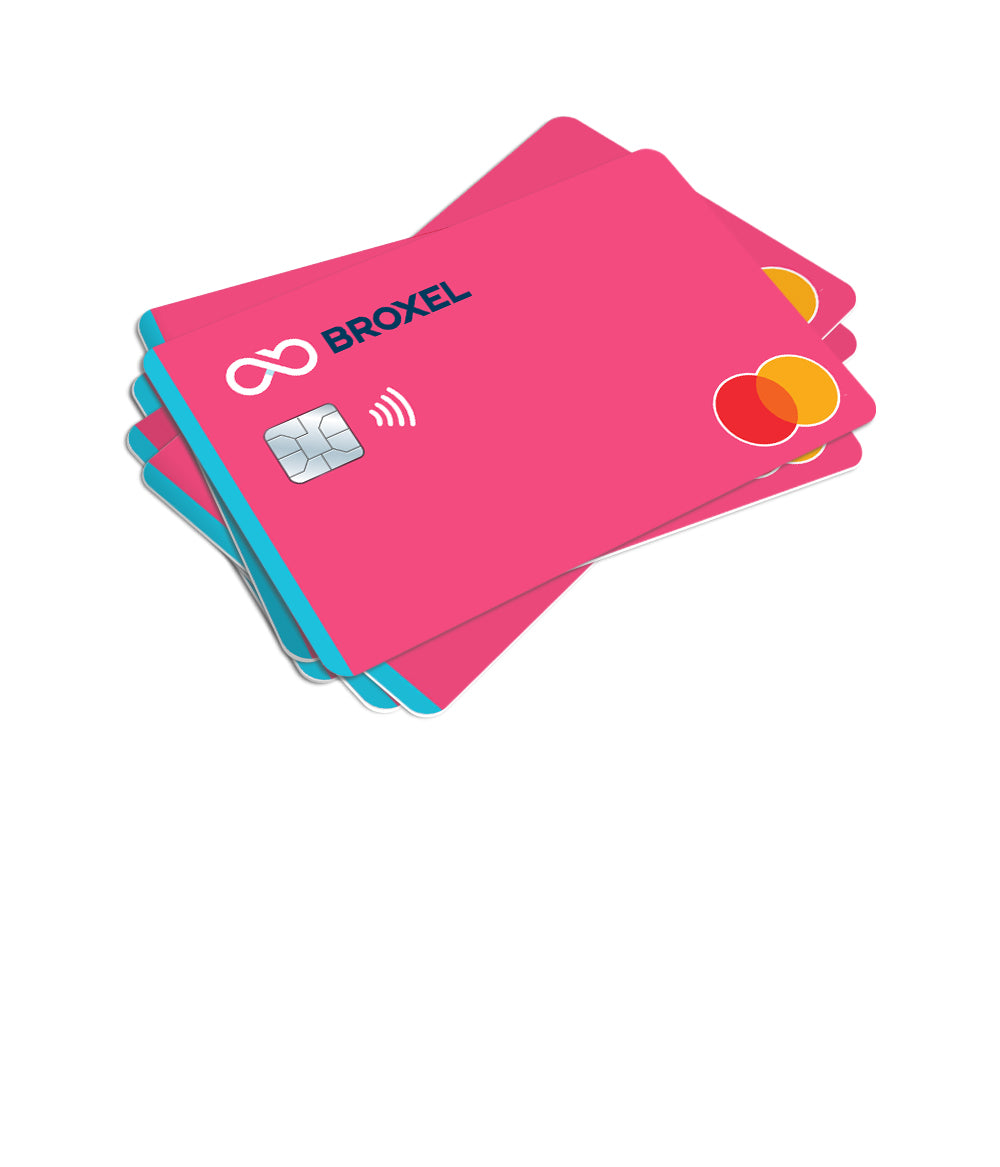 Plan Familiar Broxel: 5 Tarjetas Contactless