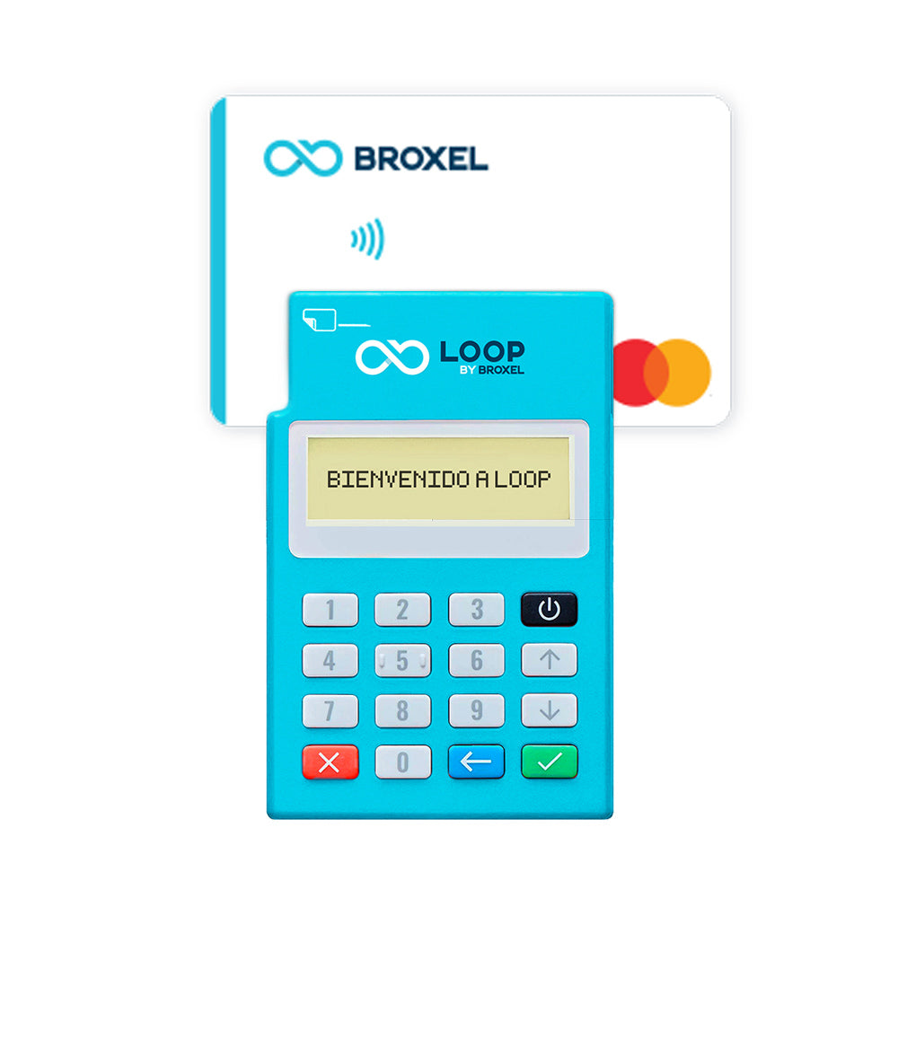 Loop by Broxel + 2 Tarjetas Contactless