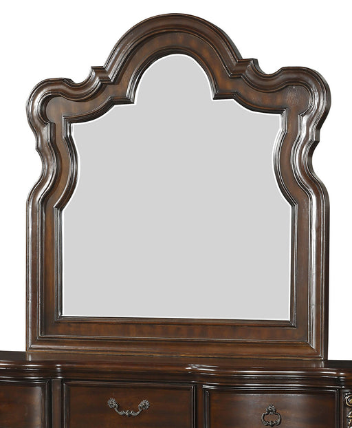 Homelegance Royal Highlands Mirror in Rich Cherry 1603-6 image