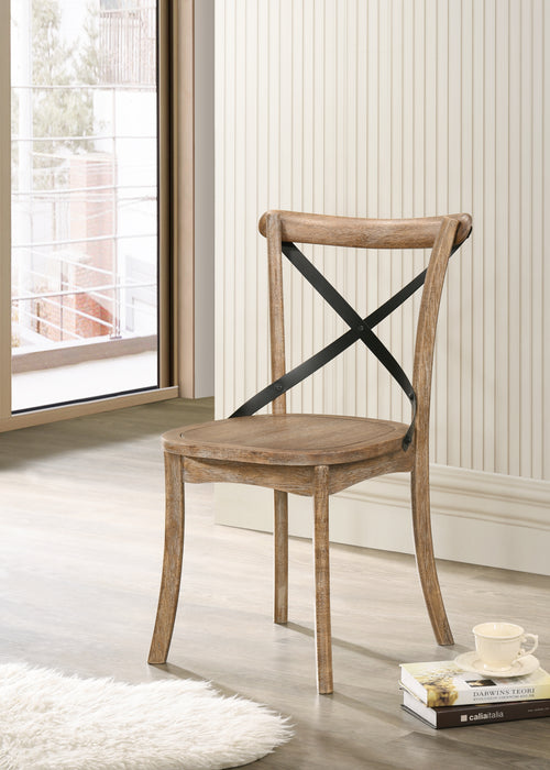 Kendric Rustic Oak Side Chair image