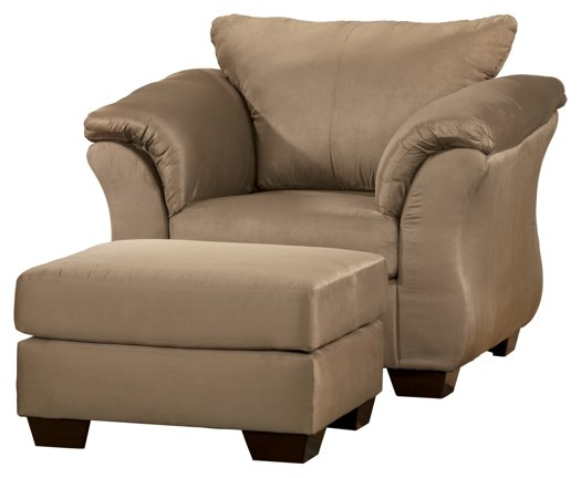 Darcy Signature Design 2-Piece Chair & Ottoman Set