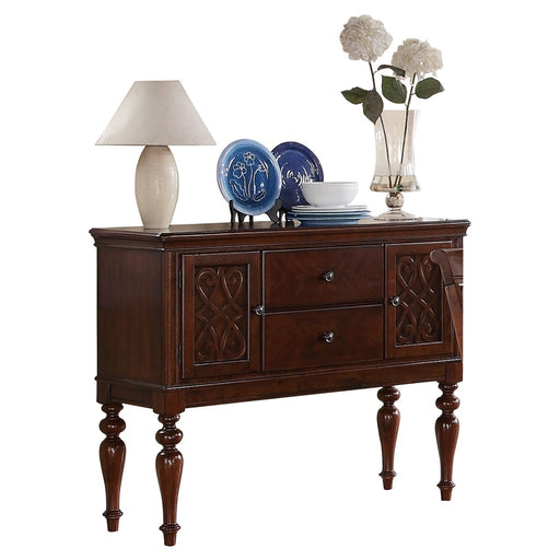 Homelegance Creswell Server in Dark Cherry 5056-40 image