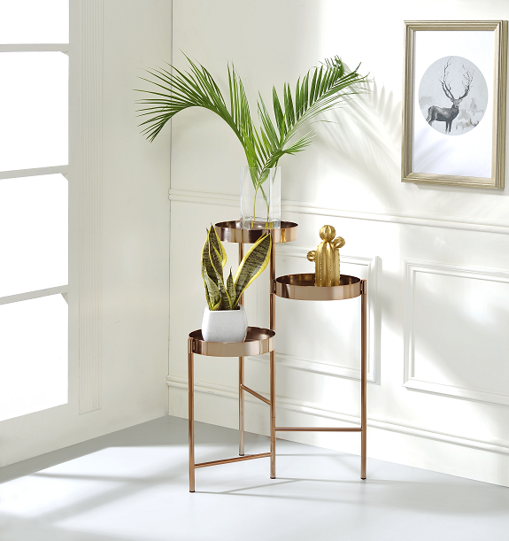 Namid Gold Plant Stand image
