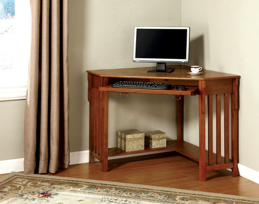 Toledo Medium Oak Corner Desk image