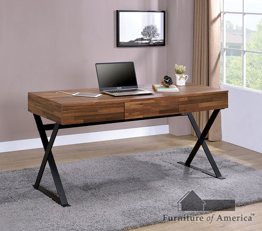 Tensed Sand Black Desk image