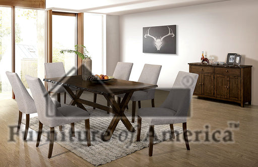 Woodworth Walnut 7 Pc. Dining Table Set image