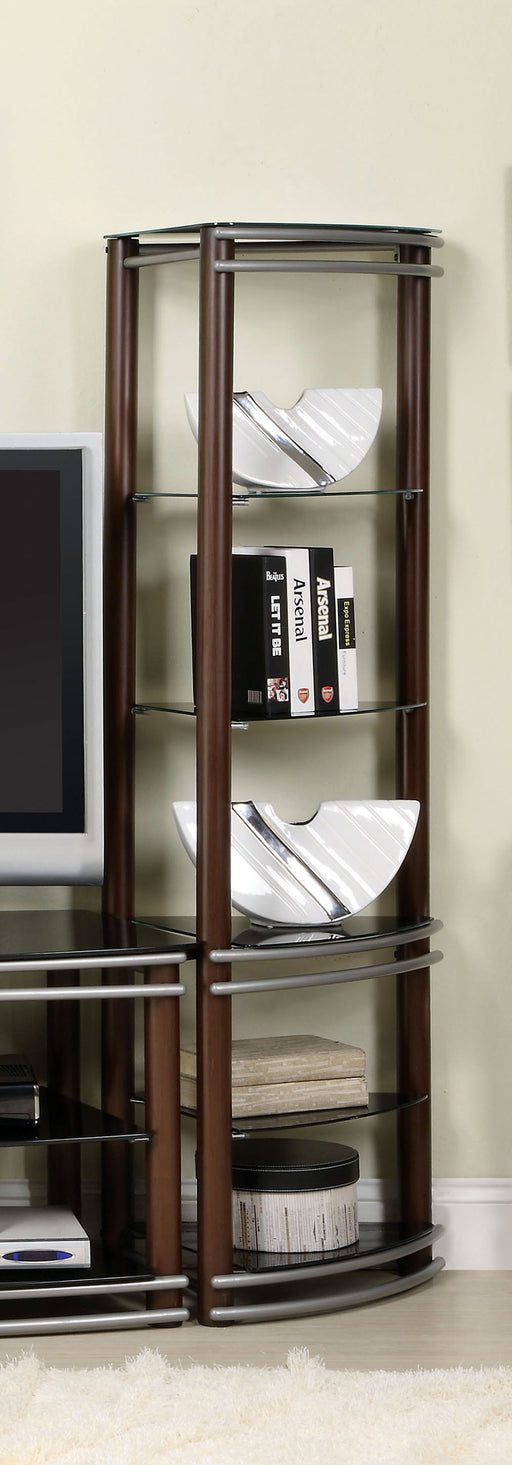 Silver Creek Brown/Silver 2 Pc. Pier Shelves (1 Pair) image
