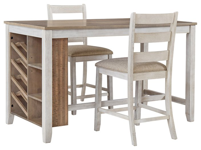 Skempton Signature Design 3-Piece Counter Height Dining Room Package