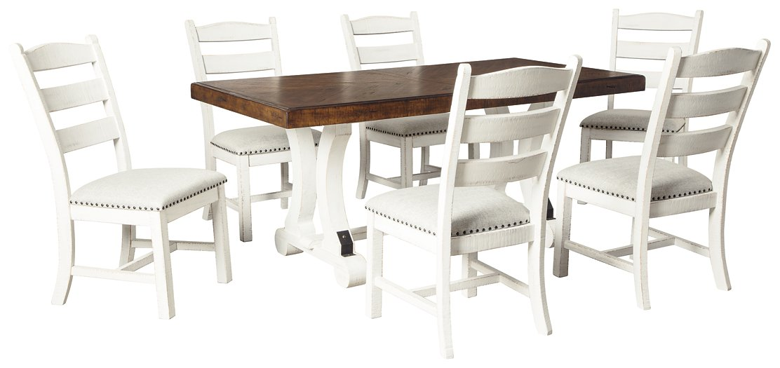 Valebeck Signature Design 7-Piece Dining Room Package