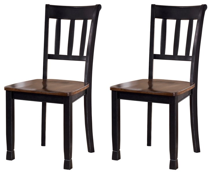 Owingsville Signature Design 2-Piece Dining Chair Package