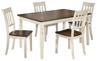 Whitesburg 5-Piece Dining Room Set