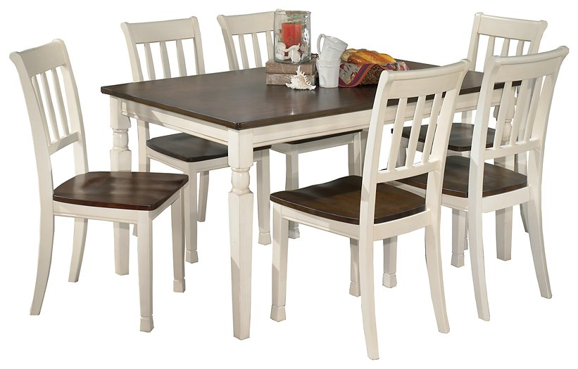 Whitesburg Signature Design 7-Piece Dining Room Package