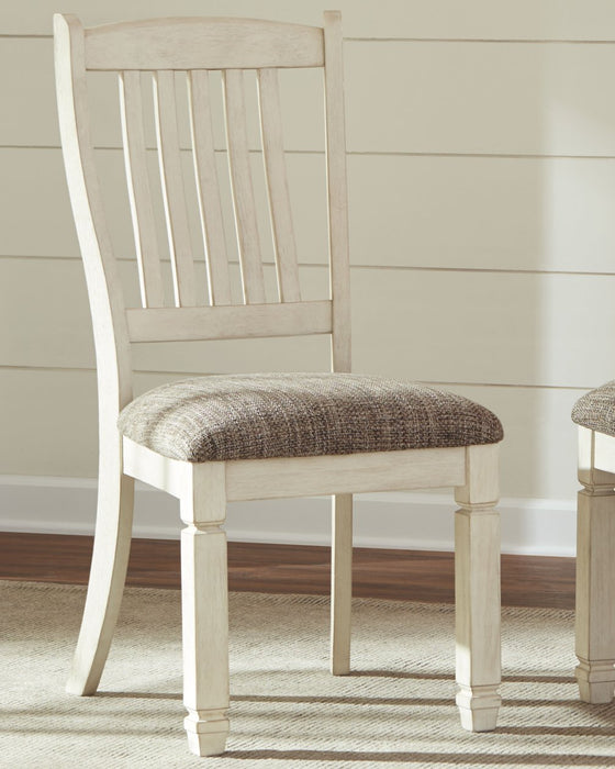 Bolanburg Signature Design by Ashley Two-tone Single Dining Chair