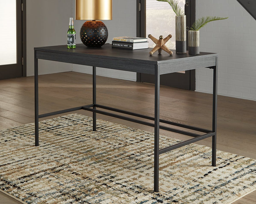 Yarlow Signature Design by Ashley Black 48 Home Office Desk