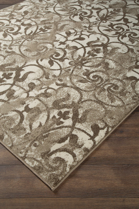 Cadrian Signature Design by Ashley CreamBrown 5 x 7 Rug