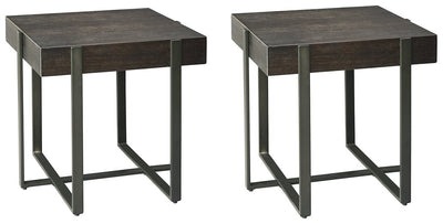Drewing Signature Design 2-Piece End Table Set
