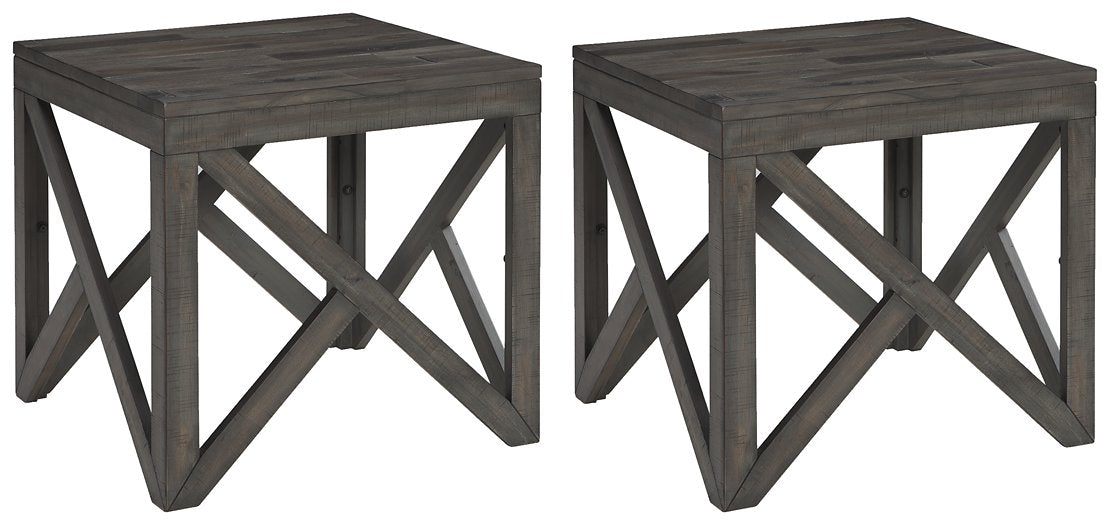 Haroflyn Signature Design 2-Piece End Table Set