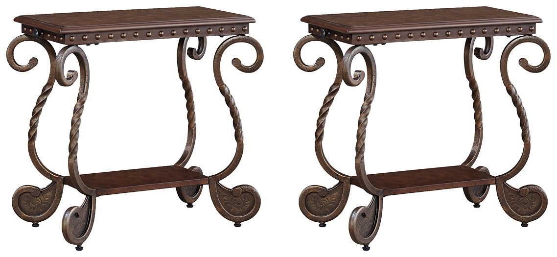 Rafferty 2-Piece End Table Set