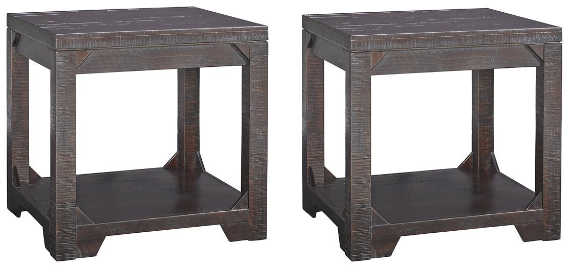 Rogness Signature Design 2-Piece End Table Set