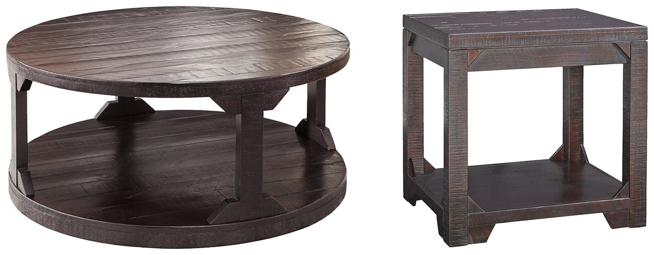 Rogness Signature Design 2-Piece Table Set