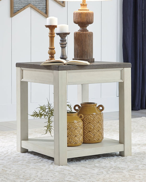 Bolanburg Signature Design by Ashley BrownWhite End Table