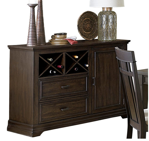 Homelegance Makah Server in Dark Brown 5496-40 image