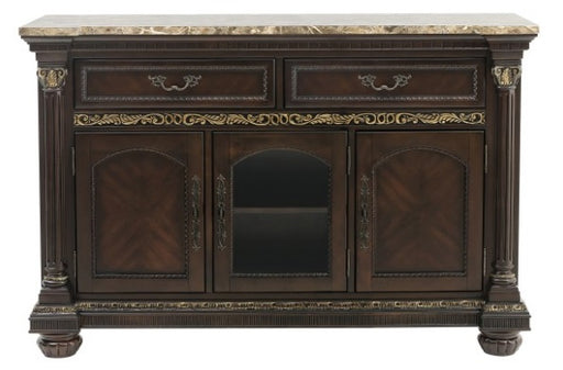 Homelegance Russian Hill Server in Cherry 1808-40 image