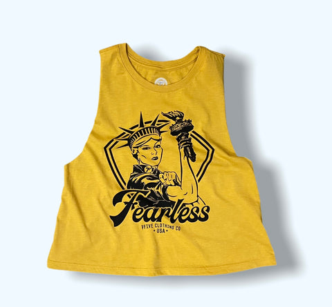 Fearless Liberty - Gold - 7Five Clothing Co.