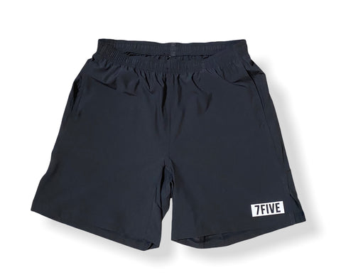 Mens Delta Short - Black - 7Five Clothing Co.