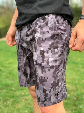7Five Command Shorts-Digital Camo - 7Five Clothing Co.