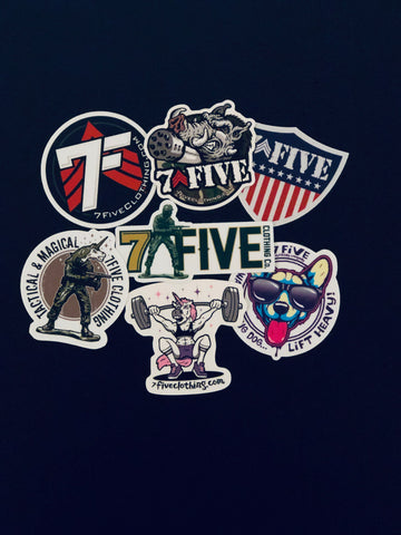 Sticker pack - 7Five Clothing Co.