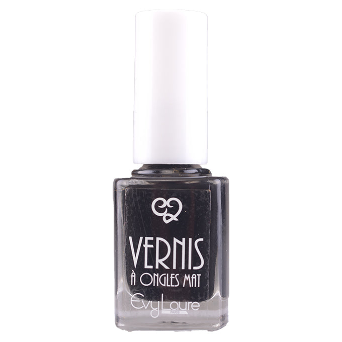 VERNIS Á ONGLES MAT - DARK BLACK