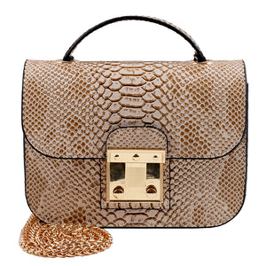 SAC A MAIN LYNN MARRON-BEIGE