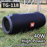 40W TG118 Bluetooth Subwoofer Speakers - UK Merchants