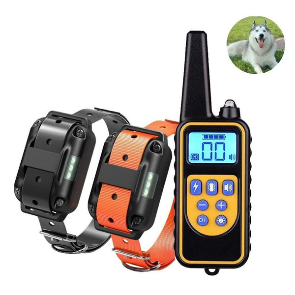 Waterproof Rechargeable Pet Dog Training Collar - UK Merchants
