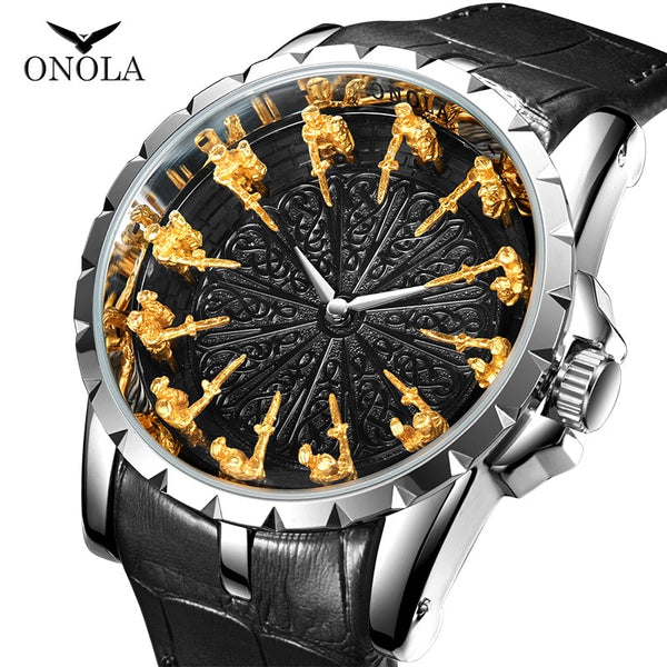 ONOLA brand Unique Quartz Men's watch