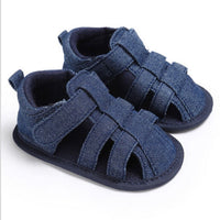 Newborn Baby Boy Summer Soft Crib Shoes